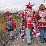 Der FC Bayern golft gegen Gladbach