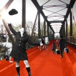 Neue Räume: Puerto Giesing und die Braunauer Eisenbahnbrücke