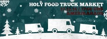 Flyer Holy Food Truck Market München