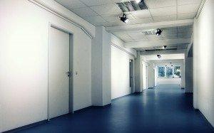 Der Linoleum-Club mit Linoleum-Boden