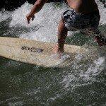 Surfsaison der Thalkirchner Floßlände startet