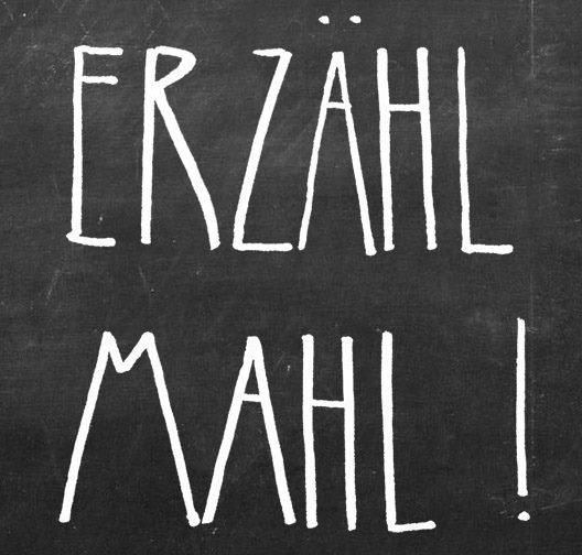 Mucbook: Erzähl-Mahl, Logo