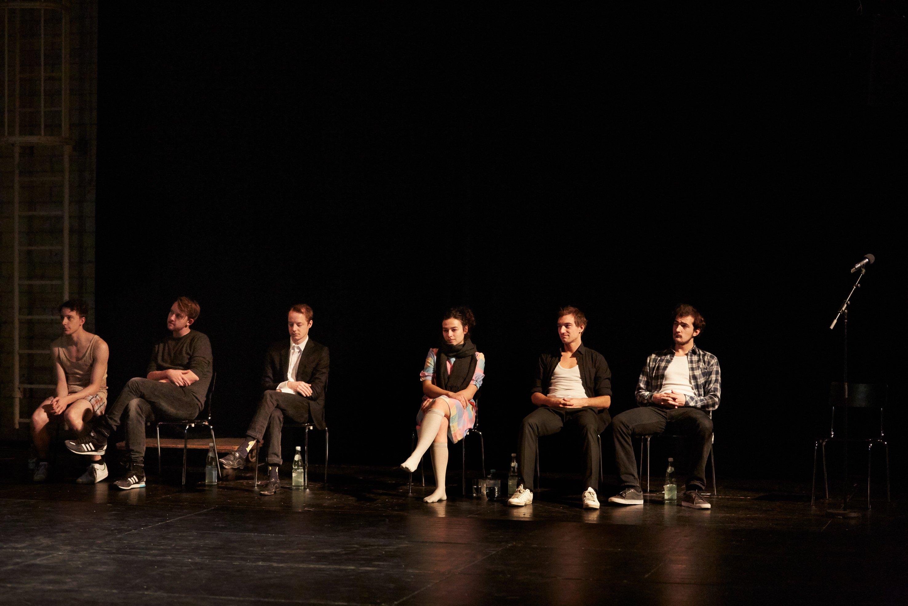 Das Vorsprechen _ Münchner Kammerspiele  2015