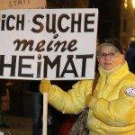 Fotostrecke: Ein Jahr Pegida München