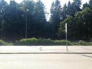 Meine Haltestelle: Waldfriedhof Haupteingang