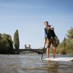 Auf dem SUP von München nach Wien – Pascal Rösler über den Trip, der sein Leben veränderte