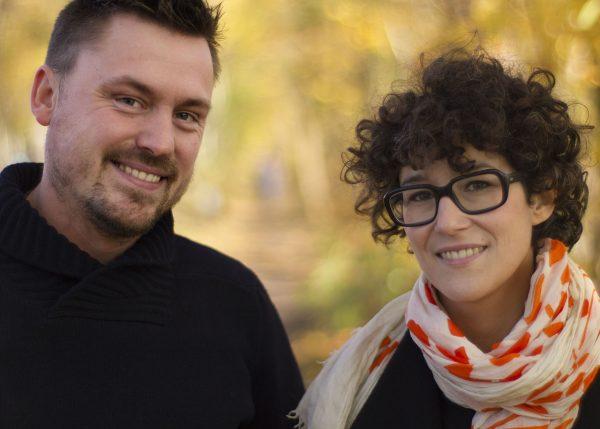 Filmemacher Julian Wildgruber und Hanna Henegin