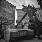 Demonstration gegen die Siko – der Tag in Bildern