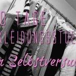 30 Tage + 15 Kleidungsstücke = ein Selbstversuch im April