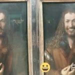 Lach doch mal: Mit der FaceApp unterwegs in Münchens Museen