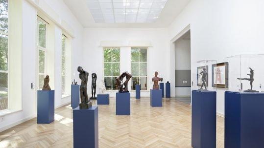 Blick in das Bildhaueratelier Alfred Flechtheim Georg Kolbe Museum Foto Enric Duch VG Bild-Kunst 2017