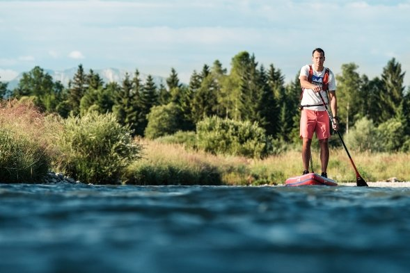 """Image-Shooting """"Pure Water for Generations"""" an der Isar mit Pascal Rösler."""