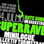 """Superrave im Backstage – """"Sommer, Bass, Hammer"""""""