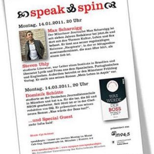 Speak & Spin: von Hauptsätzen, ungeliebt und Aspik-Leben