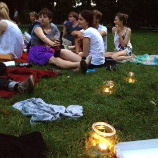 Poesie im Park