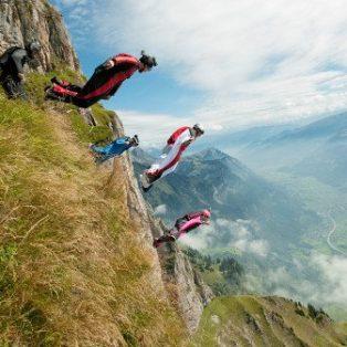 Fliegen, Klettern, Fahren