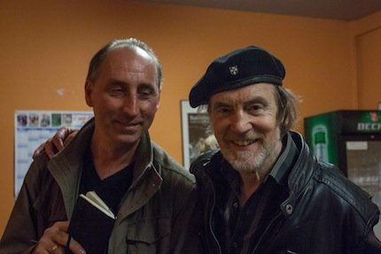 Backstage mit Frank Bornemann (c) P. Gardill-Vaassen