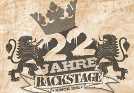 22 Jahre Backstage