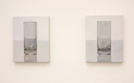 Glasbilder von Peter Dreher