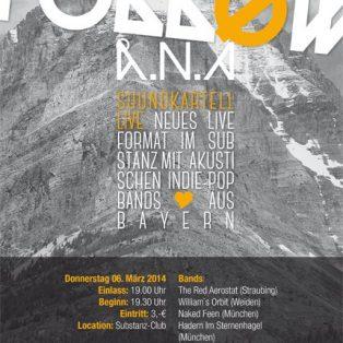 Folløw Å.N.A – Die neue Akustik Konzertreihe im Substanz startet am 6.März