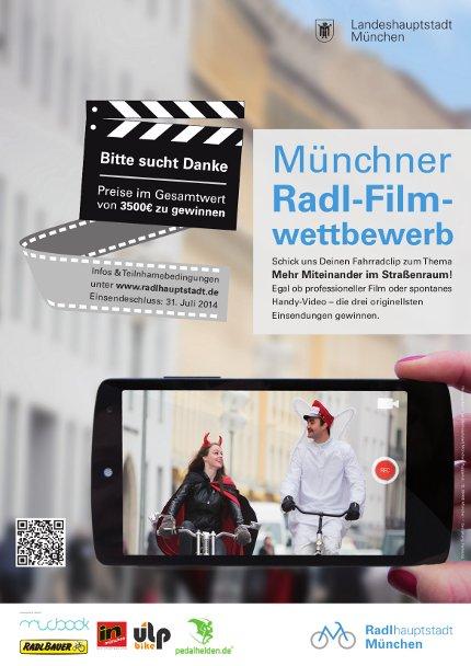 Muenchner Radl-Filmwettbewerb_A3 Poster