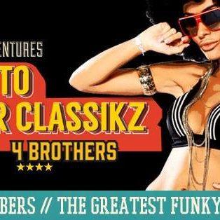 GHETTO BLASTER CLASSIKZ – Funky B-Day Ball!