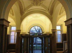 Pappenheim Eingang Innen