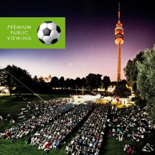Premium Public Viewing bei Kino am Olympiasee