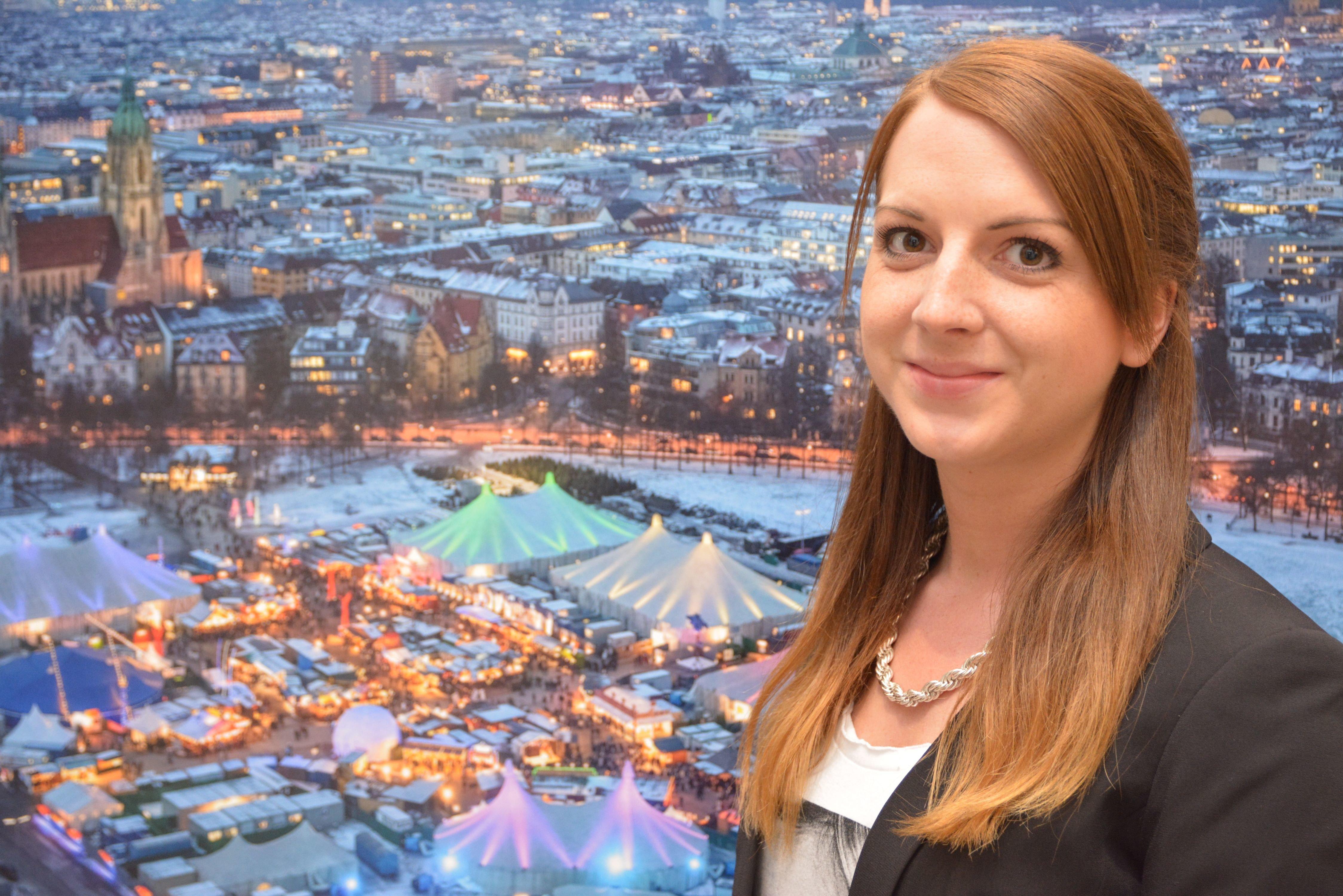 Delia Eppert, derzeit in Budapest im Auslandspraktikum