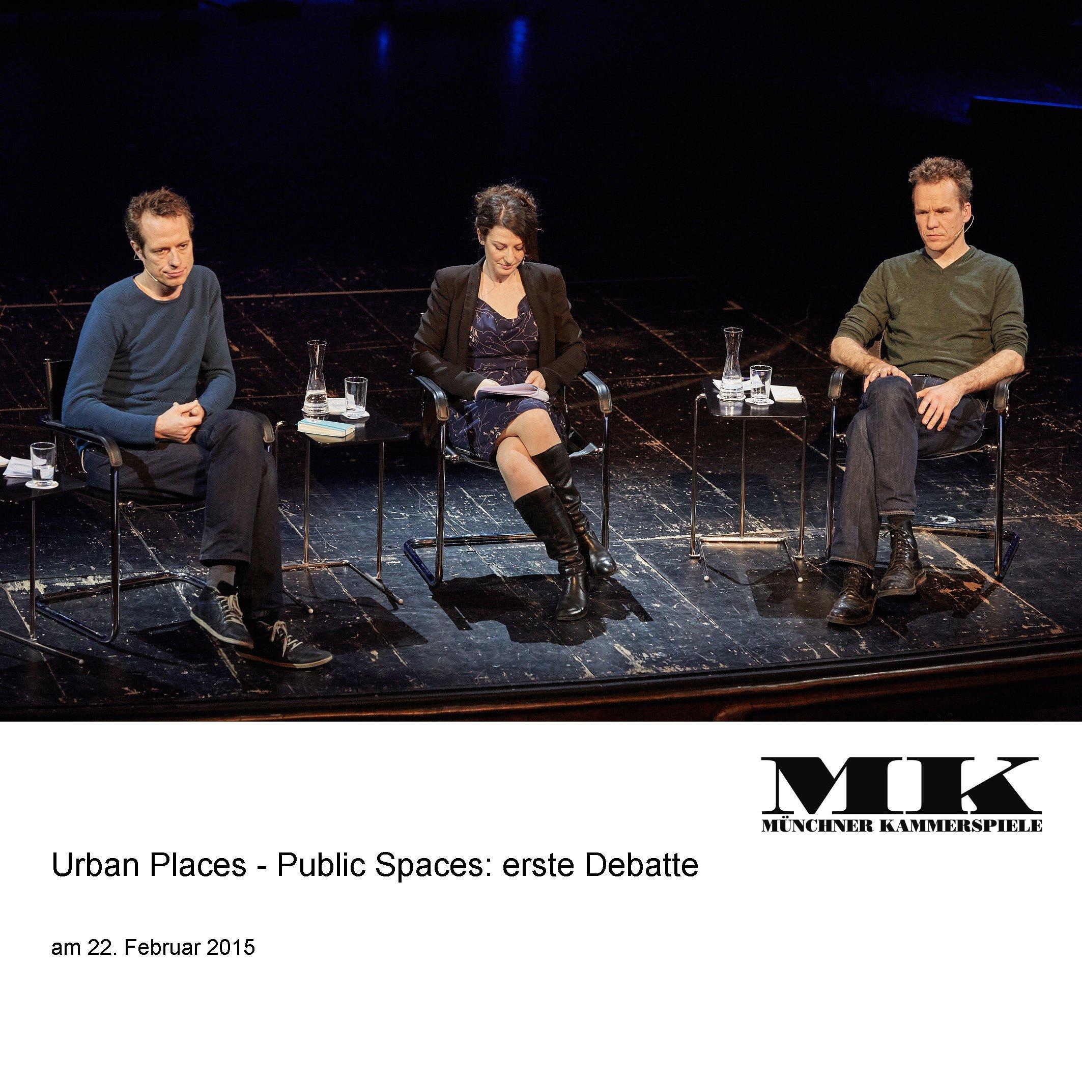 Urban Places - Public Spaces_ Erste Debatte