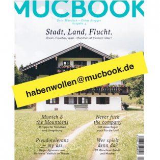 Die neue MUCBOOK Ausgabe: Ganz easy bestellen