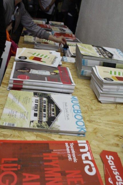 Das Mucbook-Magazin war schon nach dem ersten Tag vergriffen!