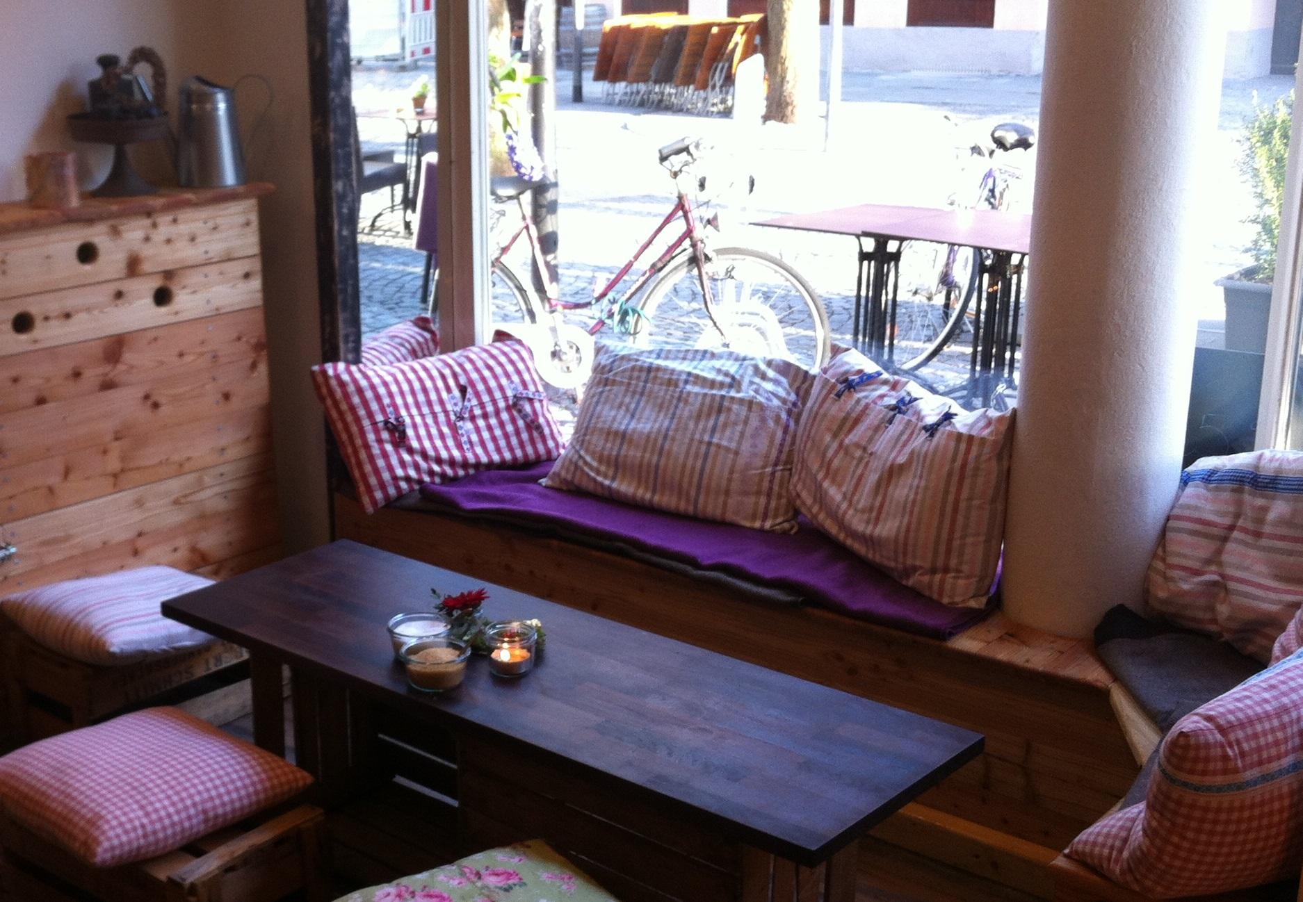 Kafeeküche Sitzecke