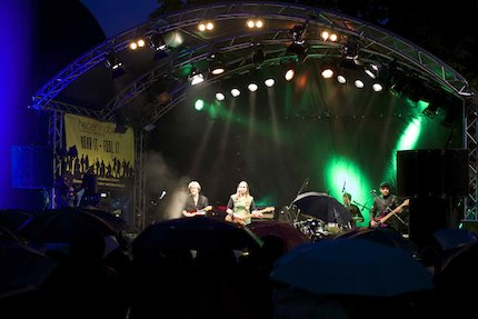Karin Rabhansl Band. Foto: Solveig Wehking