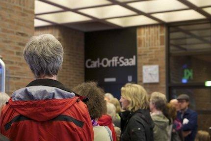 Warten Klangfest 2015. Foto: Solveig Wehking