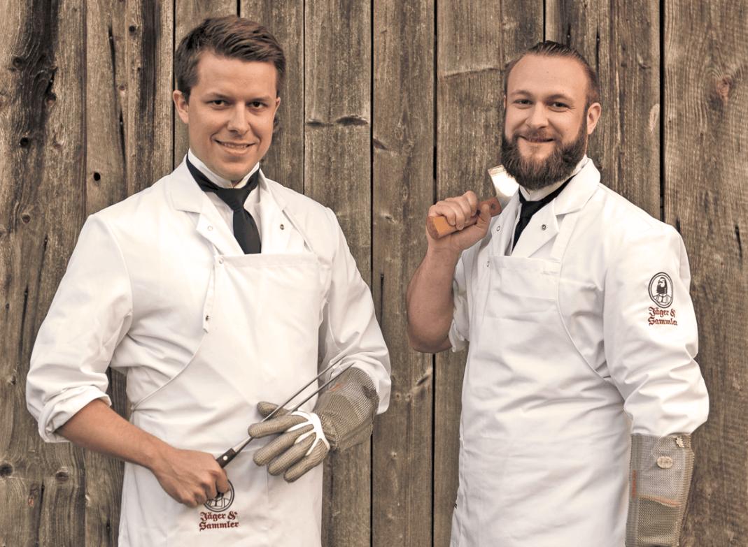 Mucbook: Food-StartUp Jäger und Sammler aus München, die beiden Gründer Lars und Florian