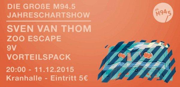 M94.5 Jahreschartshow