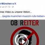 Ein Knall im Video: Pegida schießt auf OB Reiter