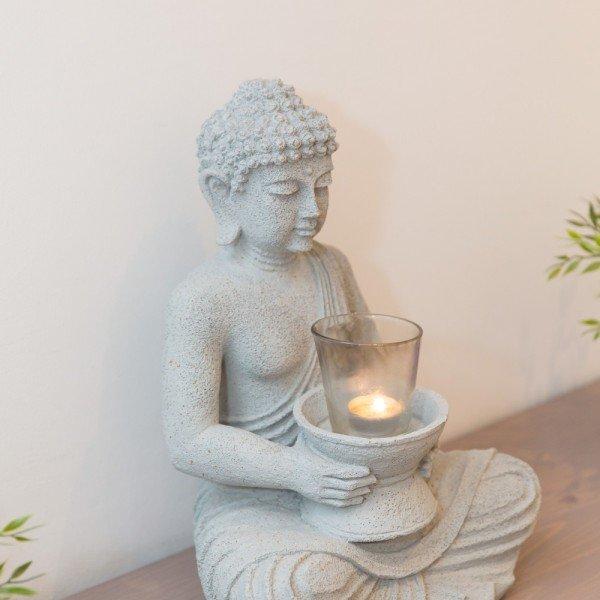 Buddha weiß