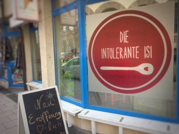 Popup Café von Die Intolerante Isi in der Maxvorstadt, München