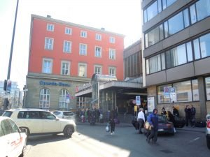 Eingang Hauptbahnhof Nord