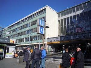 Eingang Hauptbahnhof Süd