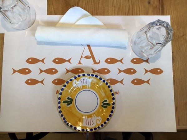 Mucbook: Popup Restaurant RiminiRimini im Eataly, Gedeck