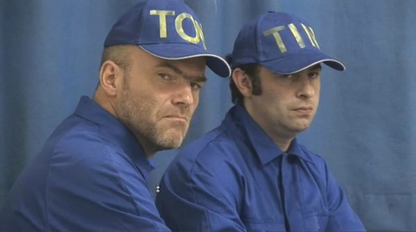 Jos de Gruyter & Harald Thys, film still from 'Ten Weyngaert', 2007, 26'. Courtesy of the artists and Galerie Isabella Bortolozzi, Berlin