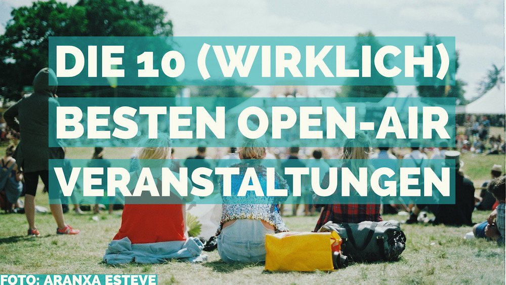 Open Air Sommer Muenchen
