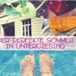 Sommer in Untergiesing – Sonne, Eis und ganz viel Wasser