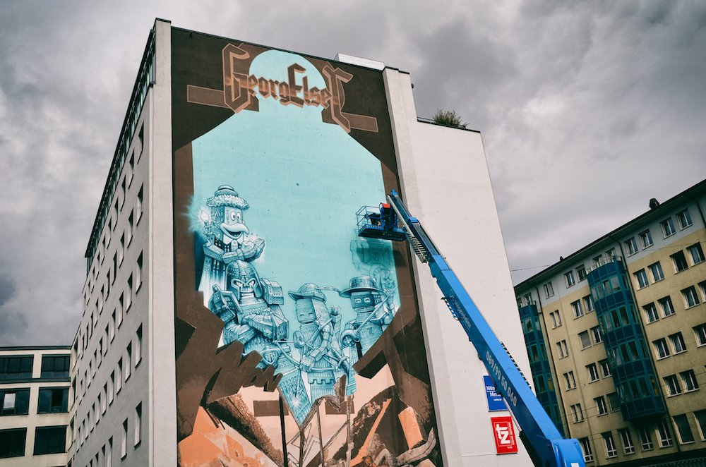 street art und graffiti wohin das auge blickt m nchen. Black Bedroom Furniture Sets. Home Design Ideas