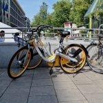 Bike-Sharing aus Singapur: Was die gelben Fahrräder in München bedeuten