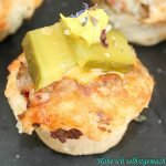 Schnelles Fingerfood – Mini Cheeseburger