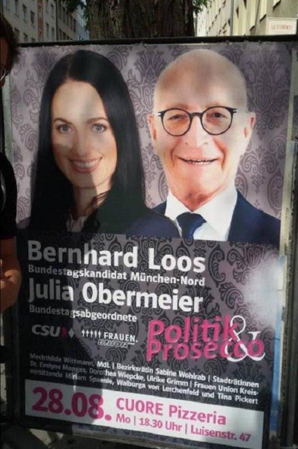 CSU Politik und Prosecco